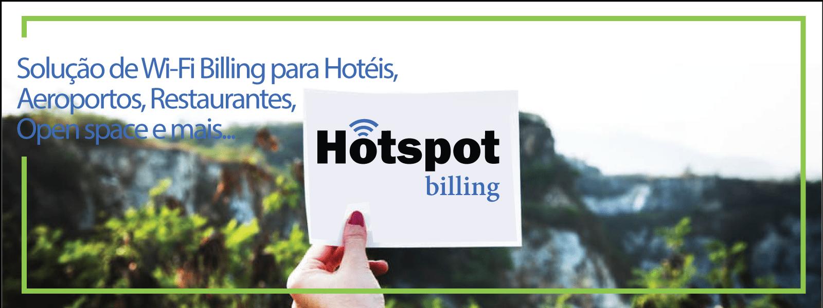 Solução de Wi-Fi Billing